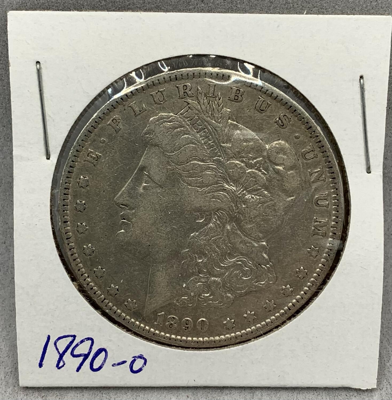 1890 Morgan Silver Dollar - New Orleans Mint