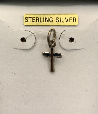 Petite Sterling Silver Charm Pendant
