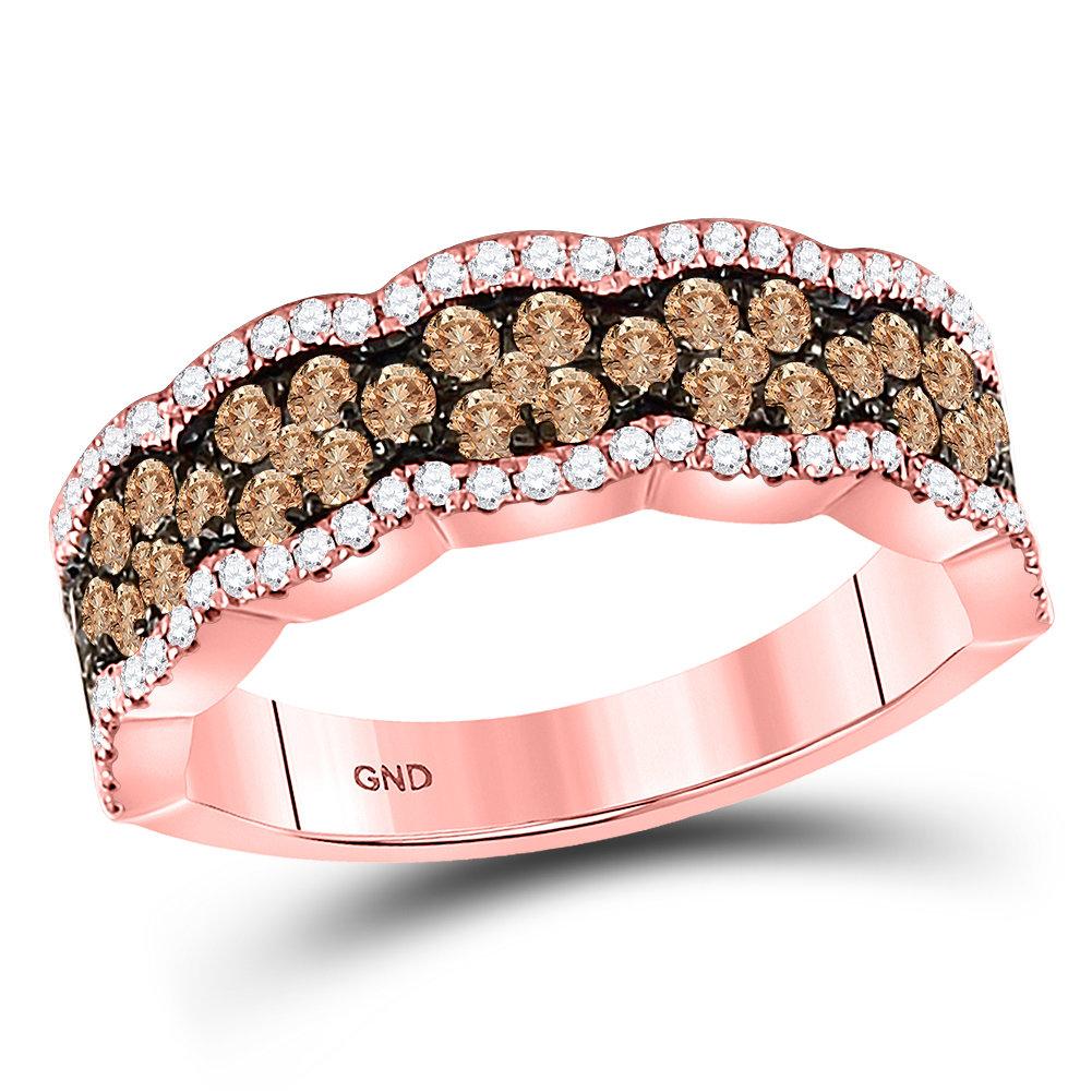 Soleil rose gold diamond ring 1 ctw. 14kt 130002