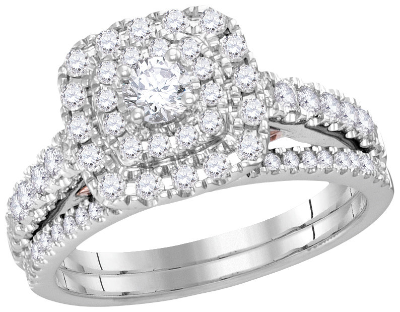 Bellissimo Bridal Collection diamond ring 1 ctw. 14kt - 1/5 ct. center stone 114800