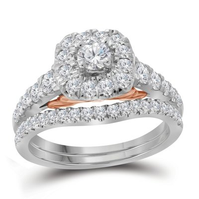 Bellissimo Bridal Collection diamond ring 1 ctw. 14kt - 1/5 ct. center stone 114799