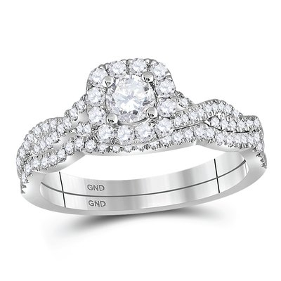 Enchanting Bliss Bridal Collection diamond ring 5/8 ctw. 14kt - 1/4 ct. center stone 106355