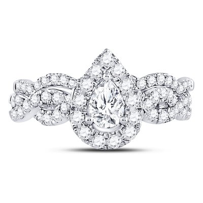 Enchanting Bliss Bridal Collection diamond ring 1 ctw. 14kt - 1/3 ct. center stone 117726
