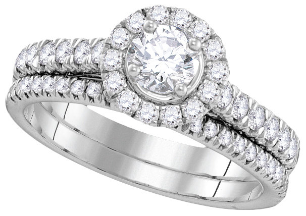 Enchanting Bliss Bridal Collection diamond ring 1 ctw. 14kt - 1/3 ct. center stone 106268