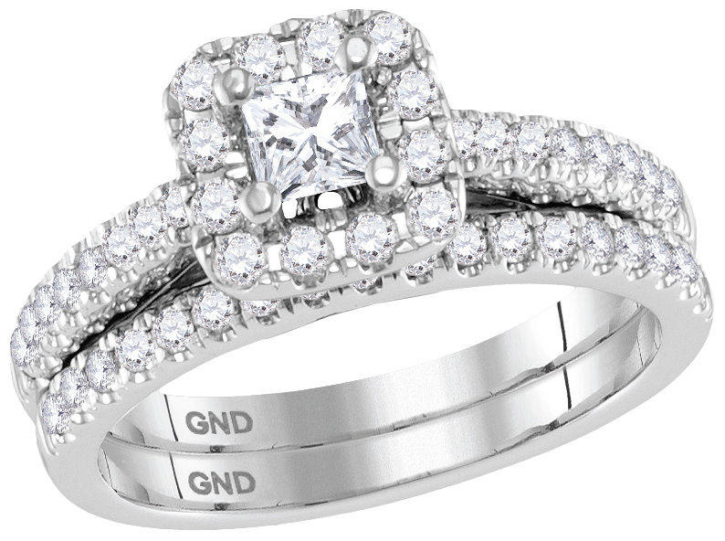 Enchanting Bliss Bridal Collection diamond ring 1 ctw. 14kt - 1/3 ct. center stone 113727