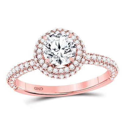 Enchanting Bliss Bridal Collection diamond ring 1 5/8 ctw. 14kt - 1 ct. center stone 125002