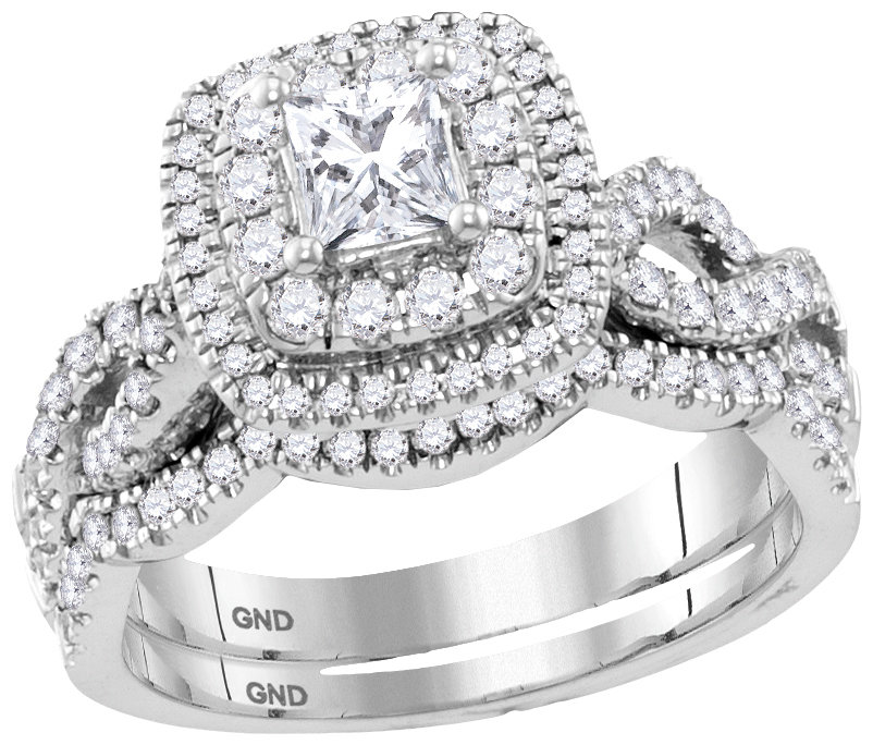Enchanting Bliss Bridal Collection diamond ring 1 1/5 ctw. 14kt - 3/8 ct. center stone 116999