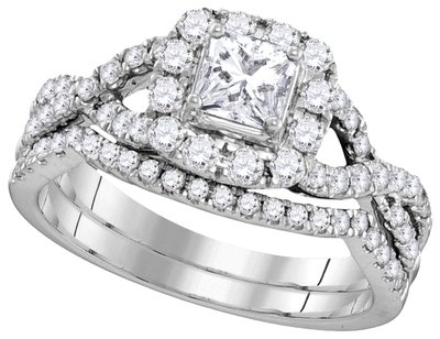 Enchanting Bliss Bridal Collection diamond ring 1 ctw. 14kt - 1/3 ct. center stone 106343