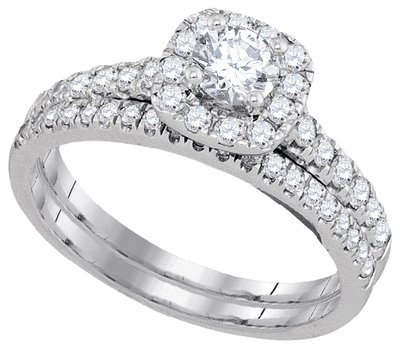 Enchanting Bliss Bridal Collection diamond ring 1 ctw. 14kt - 1/3 ct. center stone 93795