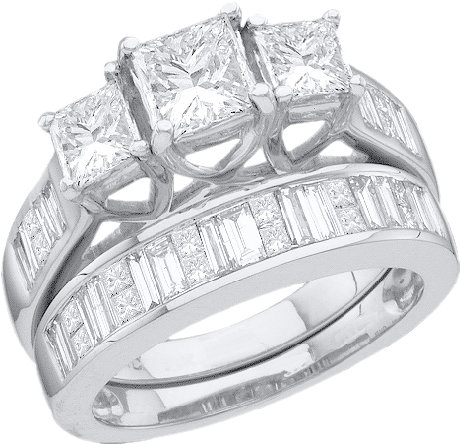 Enchanting Bliss Bridal Collection diamond ring 39866