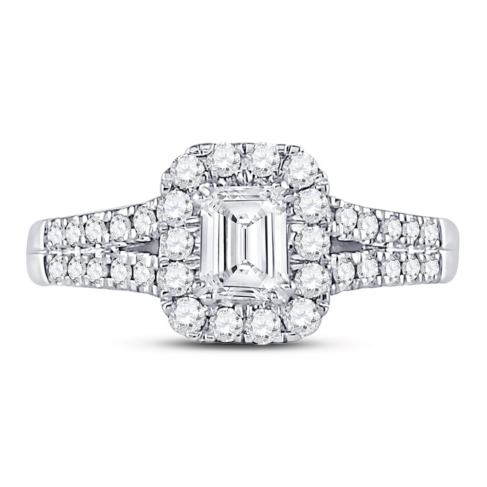 Bridal Collection diamond ring 1 ctw. 14kt - 1/2 ct. center stone 119286