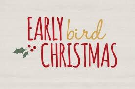 Early Bird Christmas Mystery Bags