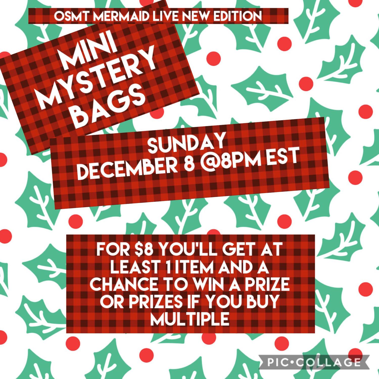 Mini Mystery Bags Live