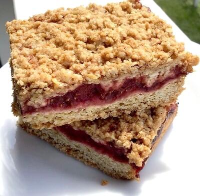 6 Gone Pie Strawberry Bar