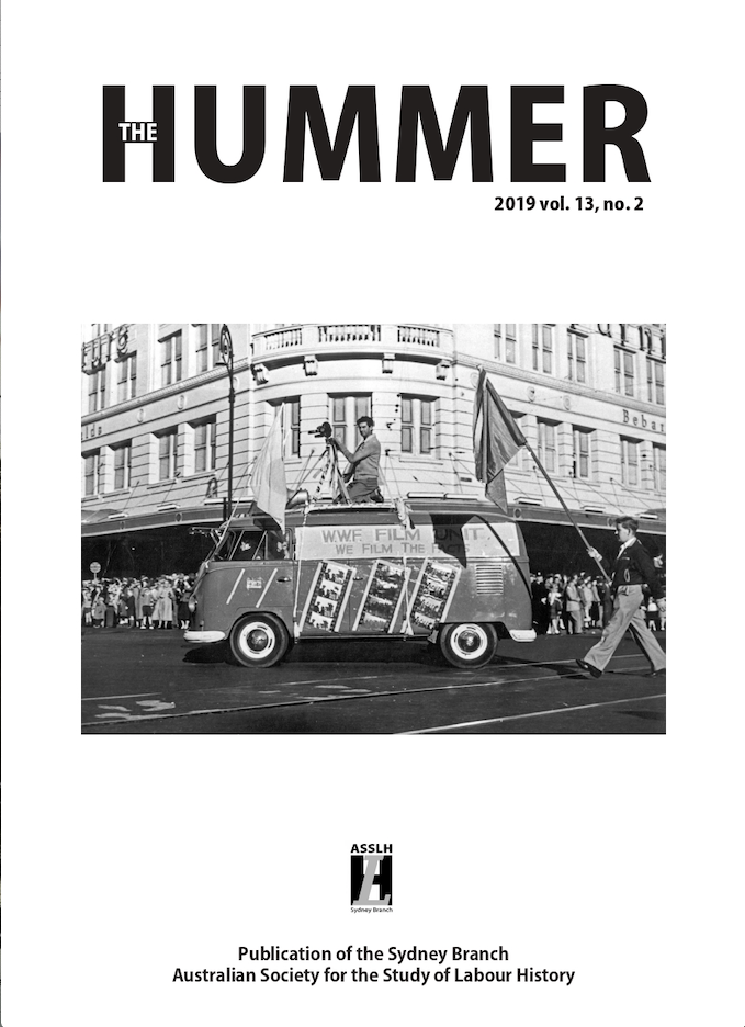 SPECIAL ISSUE ON THE TRADE UNION TRAINING AUTHORITY (TUTA), HUMMER vol. 13, no. 2, 2019 (edited by Jim Kitay).