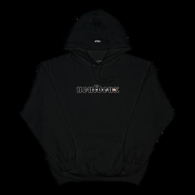neuf deux bullet hoodie black