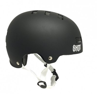 SHOT solid  helmet - matte black