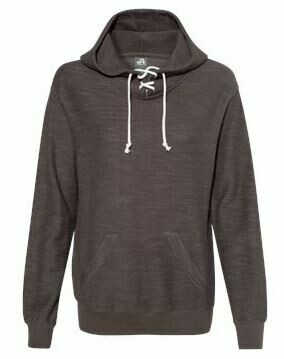 LACE UP HOODED PULLOVER