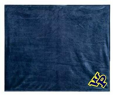 Navy Blue Mink Touch Blanket