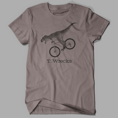 T. Wrecks Tee (Pebble Brown)
