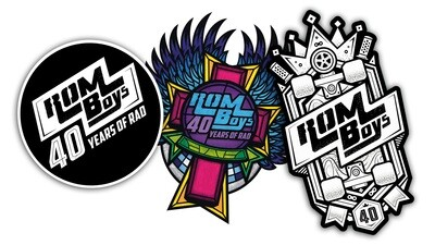 ** ALL NEW STICKER 6 PACK **
