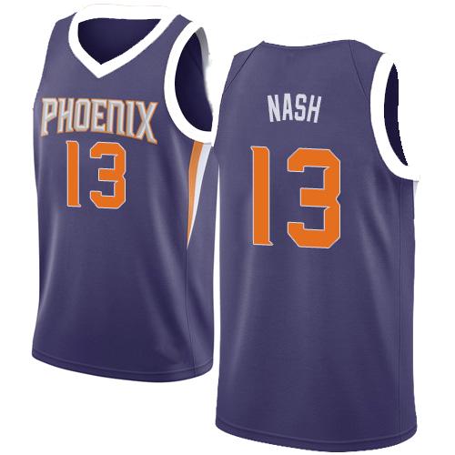 OFFER Vintage Steve Nash purple Shirt XL