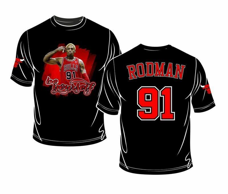 Rodman full print t-shirt