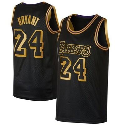 Vintage KOBE 24 gold-black jersey