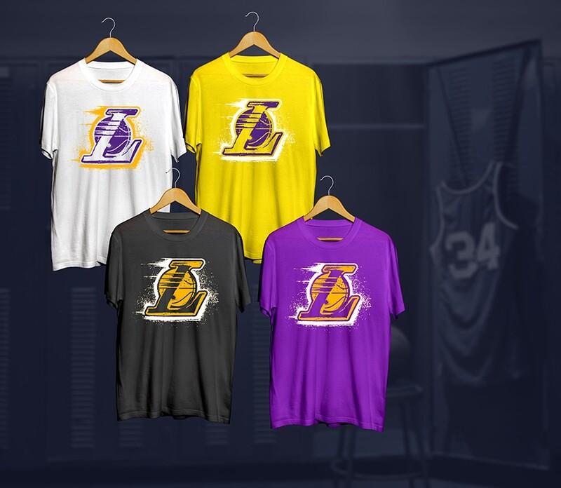 Lakers t-shirts