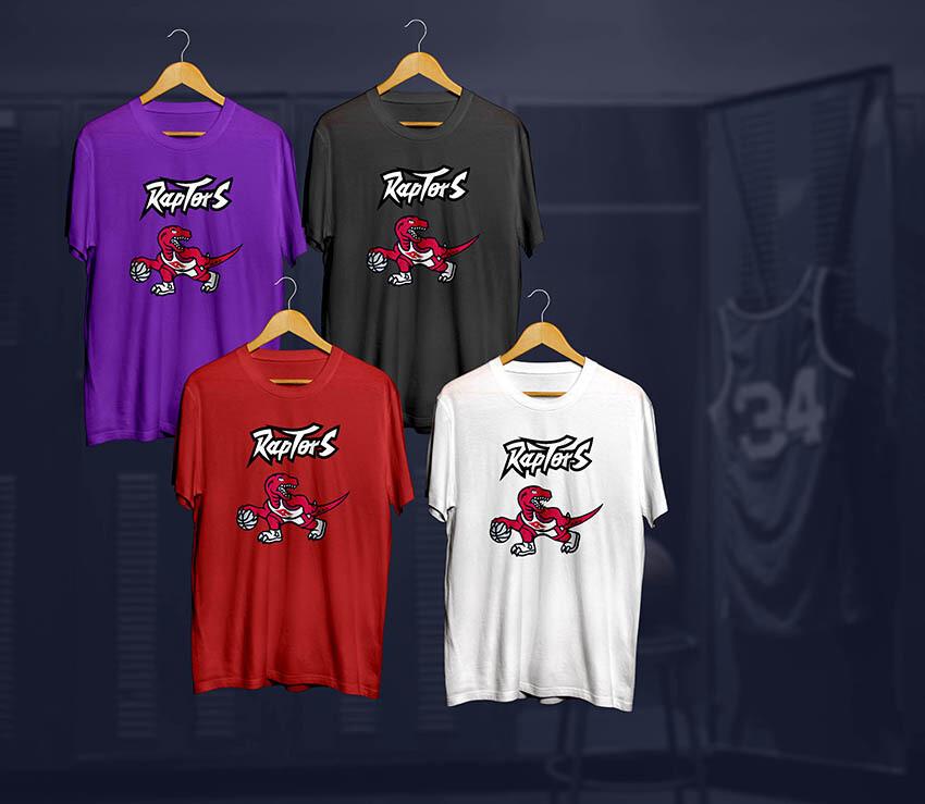 Raptors t-shirts