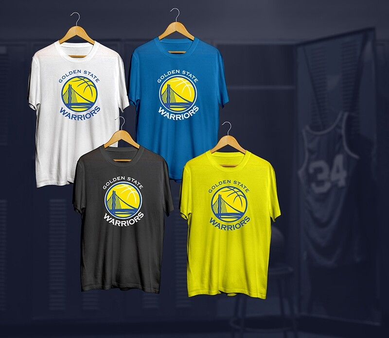 Golden state t-shirts