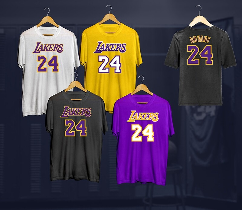 Lakers 24 t-shirt