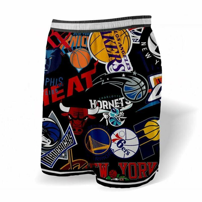 Full logos  black shorts
