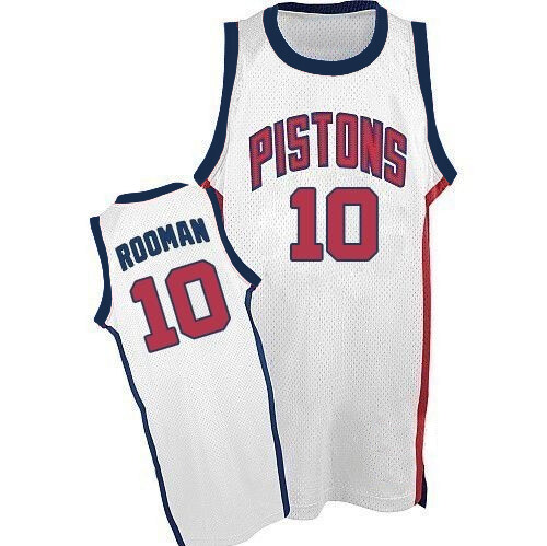 Vintage Rodman Pistons Shirt White