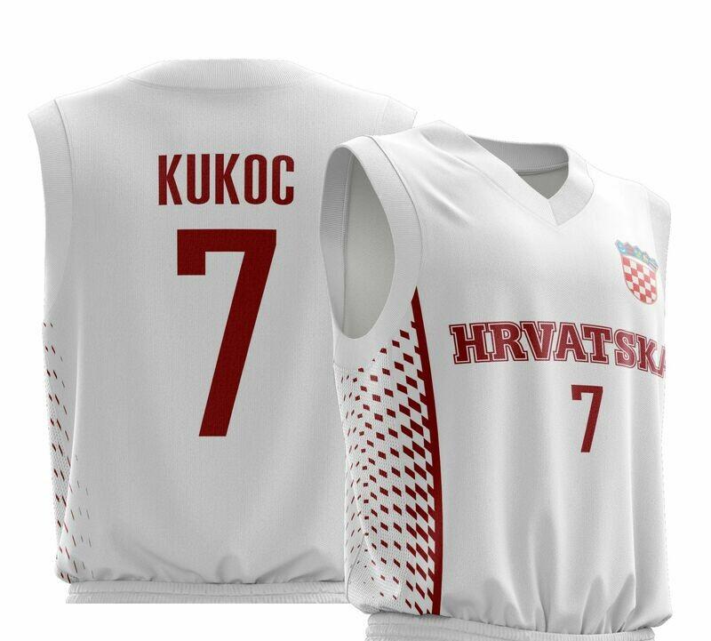 Vintage Kukoc White Shirt