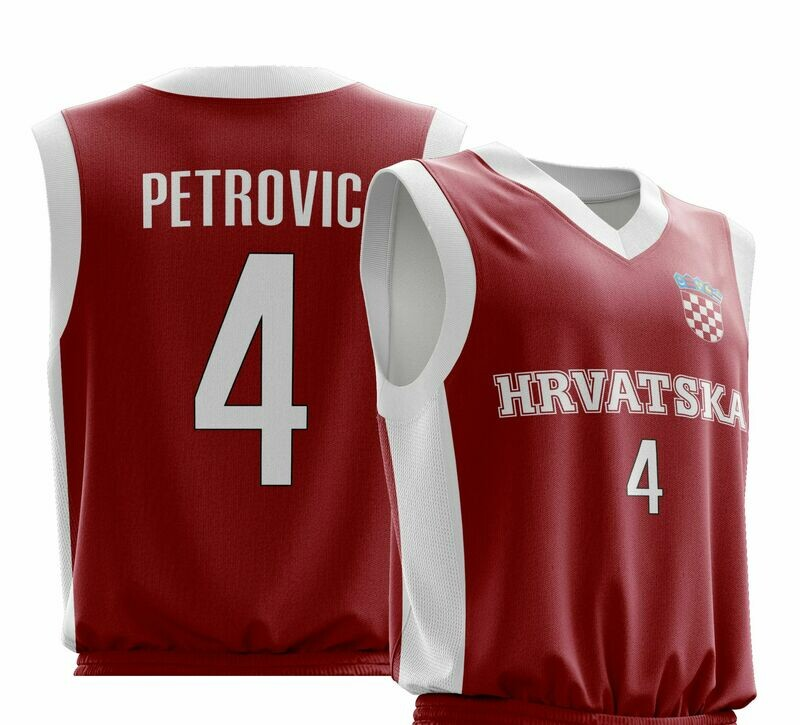 OFFER Vintage Petrovic  Red  Shirt XS