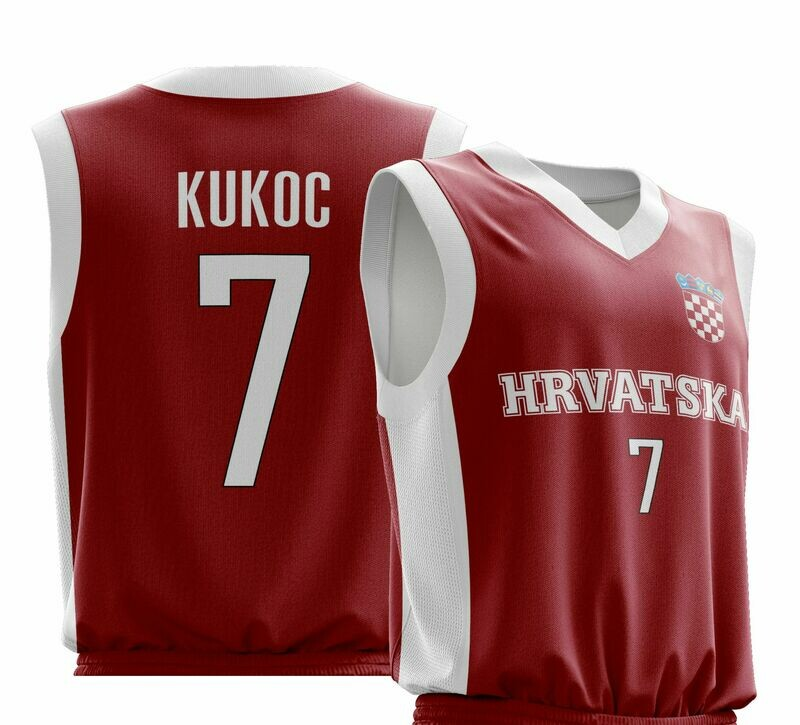 Vintage Kukoc Red  Shirt