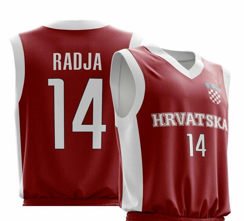 Vintage Radja Red  Shirt