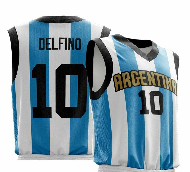 Vintage Delfino Argentina  Shirt