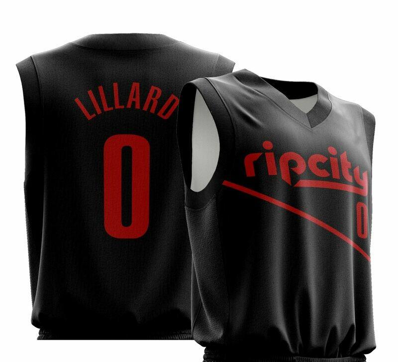 Lillard Black Jersey