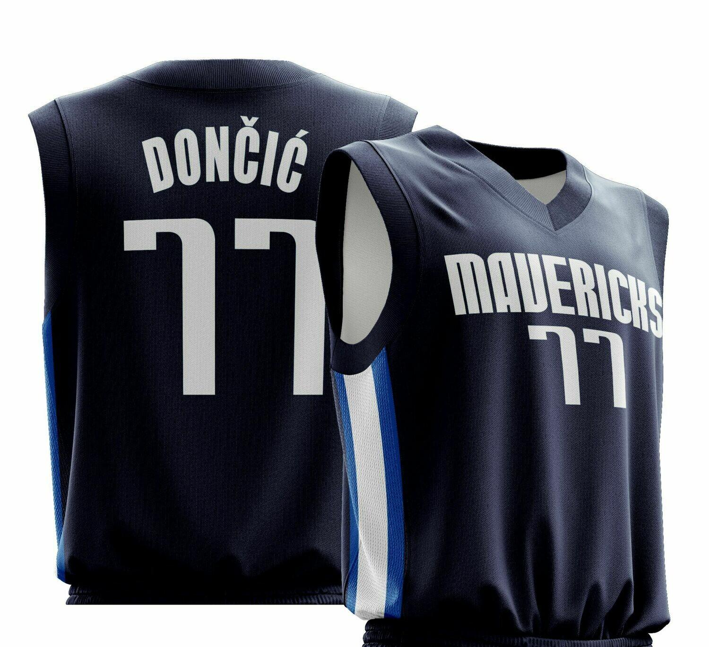 Doncic  Dark Blue Jersey