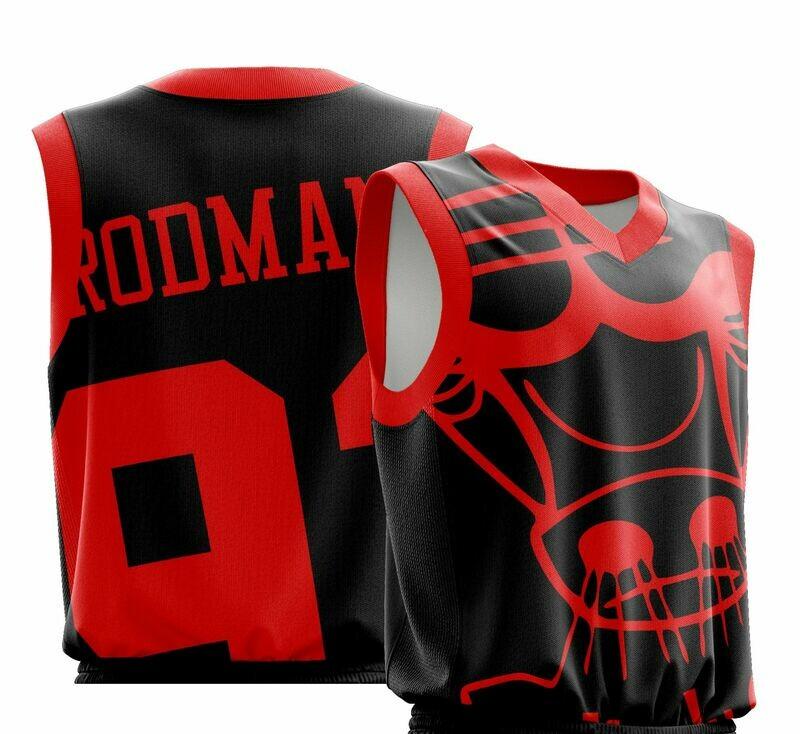 Vintage Rodman Big logo  Shirt