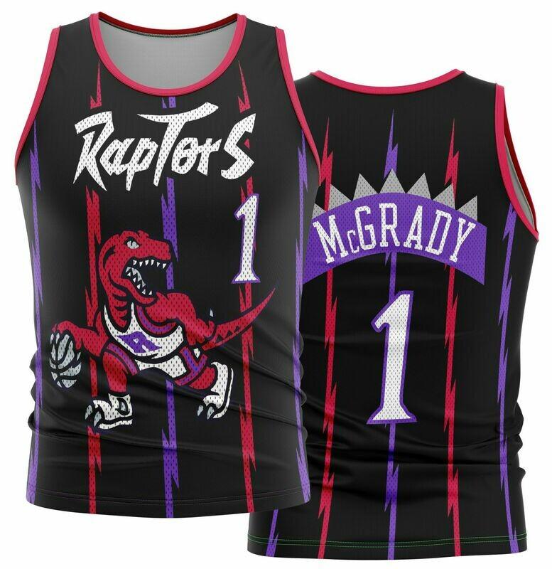 Vintage Tracy Raptors black Shirt