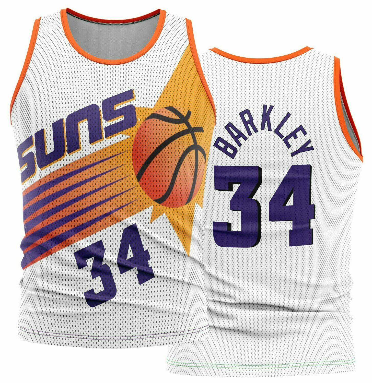 Vintage Barkley Suns white  Shirt