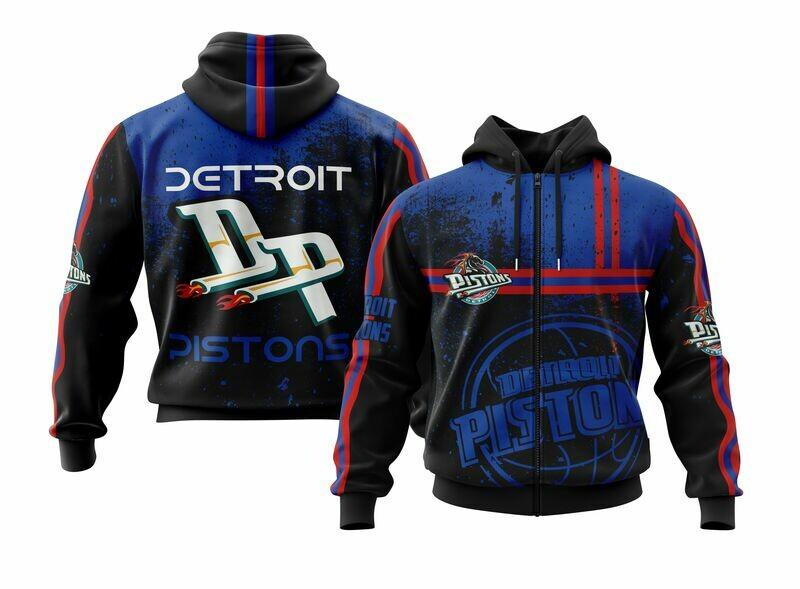 Detroit  Full Zip Hoodie
