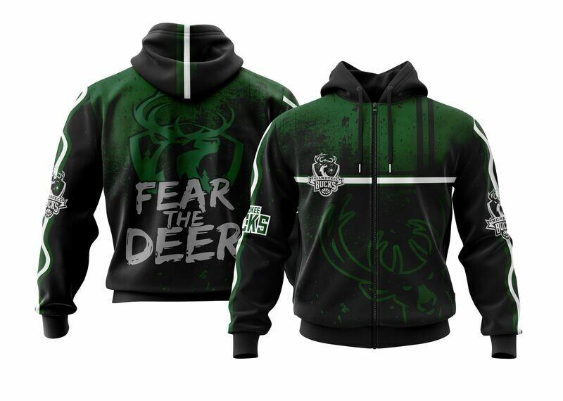 Fear the Deer Full Zip Hoodie