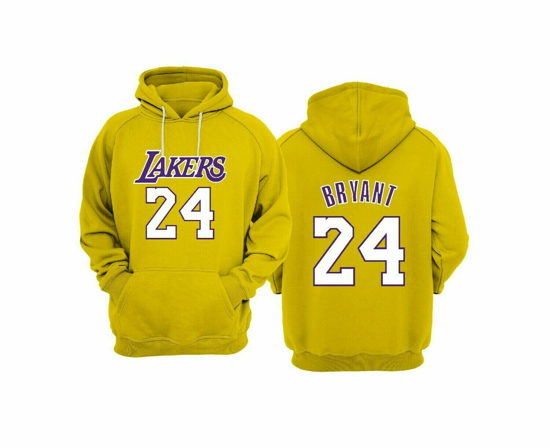 Lakers 24 YELLOW 2XL