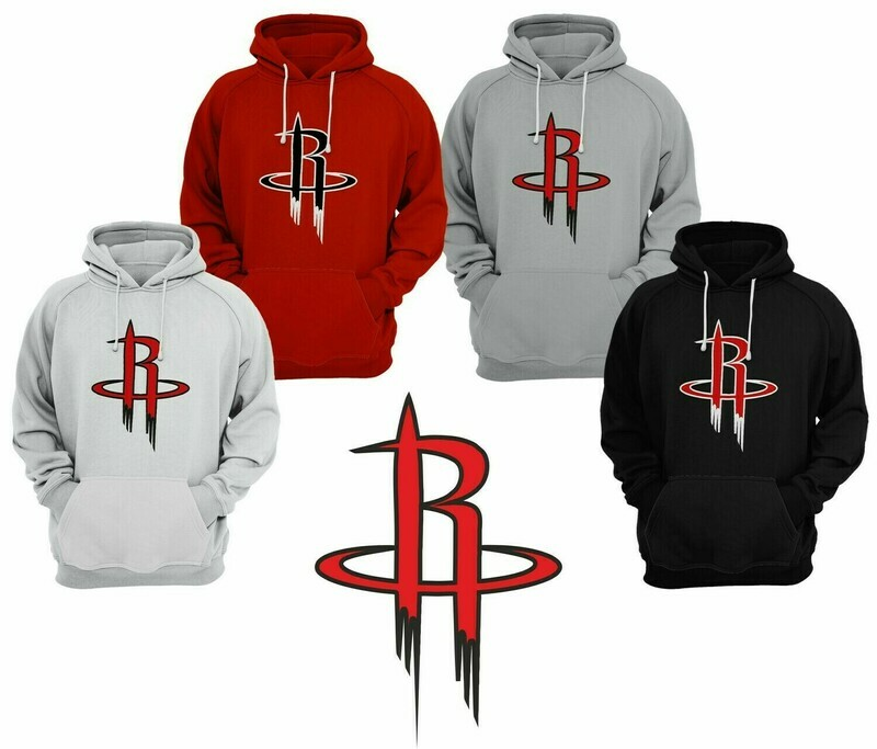 OFFER Houston Hoodies Red SMALL