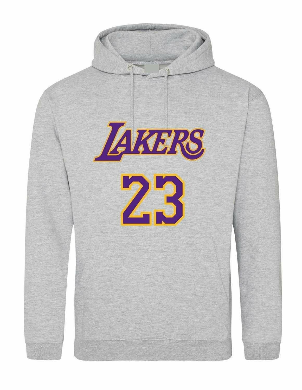 Lakers  23 Grey MEDIUM