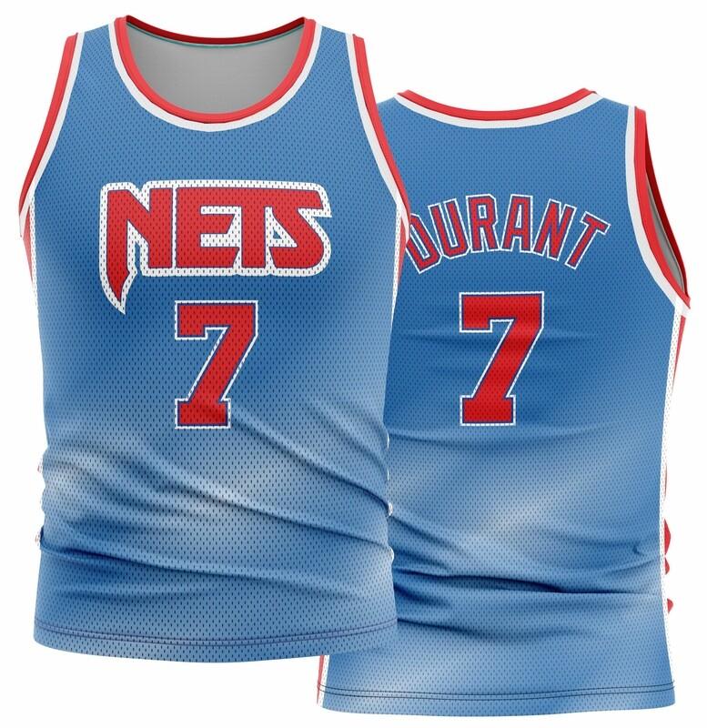 OFFER Durant retro Jersey XL